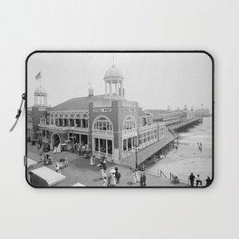 The Steel Pier at Atlantic City 1915 Laptop Sleeve