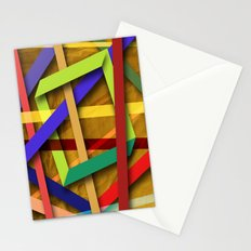Abstract #356 Stationery Cards