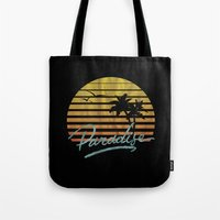 paradise Tote Bags featuring Paradise by Anthony Troester