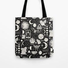 Lunar Pattern: Eclipse Tote Bag