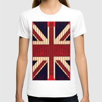 british T-shirts featuring BRITISH FLAG by shannon's art space