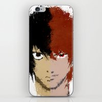 death note iPhone & iPod Skins featuring Death Note by Divya Tak
