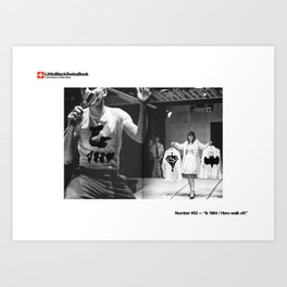 #03 — & 1984 / Hero walk off. Art Print