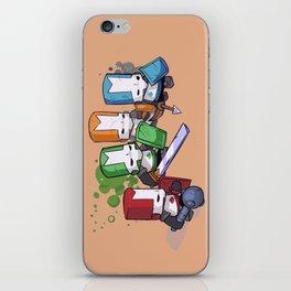 Castle Crashers Team iPhone Skin