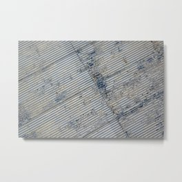 Warehouse District -- Rustic Farm Chic Abstract Metal Print