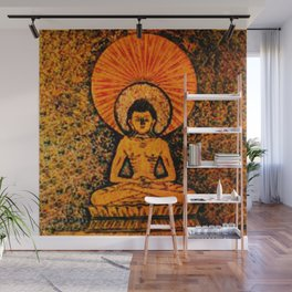 Hindu Meditaton 1 Wall Mural