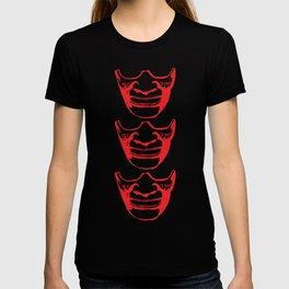 Three Kabuki Red T-shirt