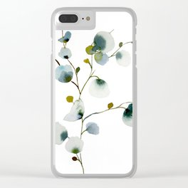 Gray Days Clear iPhone Case