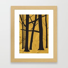 Give the trees as a gift Framed Art Print