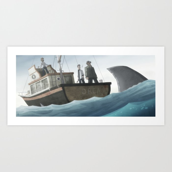 You're Gonna Need A Bigger Boat Art Print