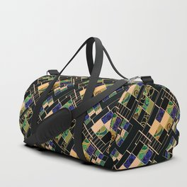 Creative patchwork. Duffle Bag