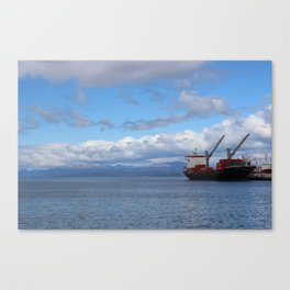 Port of Ushuaia Canvas Print