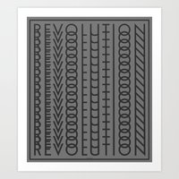 revolution Art Prints featuring Revolution by Capital Knight