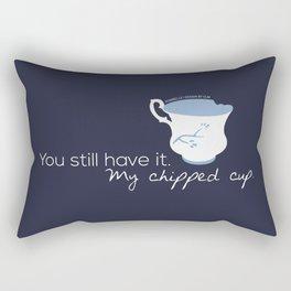 Rumbelle Quote (OUAT) Rectangular Pillow