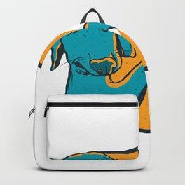 Bro Dog Fistbump Backpack