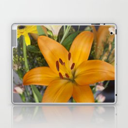 Lilium in Orange Laptop & iPad Skin