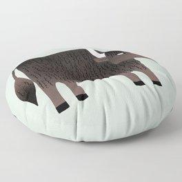 Slightly Sarcastic Yak Floor Pillow