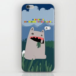 Offender 2 (World War B: War On Rabbits) - Meanwhile, Somewhere Totally Else... iPhone Skin