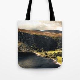 Irish Black Water - Lough Tay Tote Bag