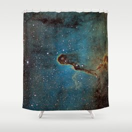 The Elephant Trunk Nebula Shower Curtain