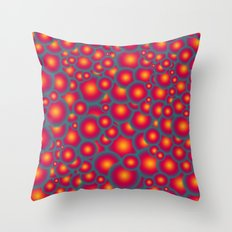 Alien eggs Throw Pillow