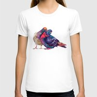 takmaj T-shirts featuring Pigeons by takmaj