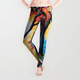 Autumn Sunset Leggings