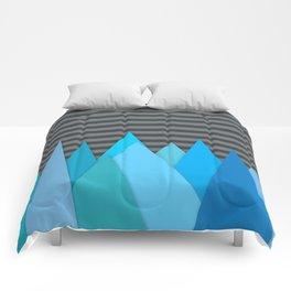 Blue Attack Comforters