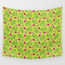 Radish Garden Wall Tapestry