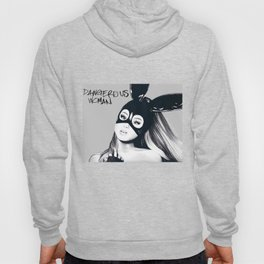 ARIANA GRAND DRAWING - DANGEROUS WOMAN - 14 YR OLD Hoody