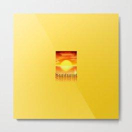 Sunturnt Metal Print