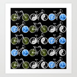 Cycling for Equality Art Print