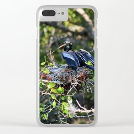 Anhinga Mama Clear iPhone Case