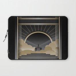 Art deco design V Laptop Sleeve