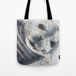 Inquisitive Seal Tote Bag