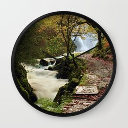 The Land of Elves Wall Clock