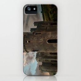 Clifden Castle at the sunset iPhone Case