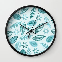 Floral #5 Wall Clock