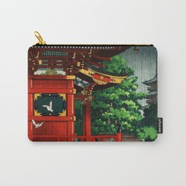 In the rain-Asakusa Sensouji temple Carry-All Pouch