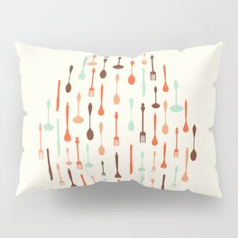 AFE Cutlery Icons Pillow Sham