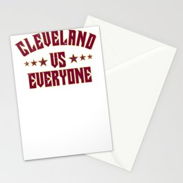 Cleveland Vs Everyone 2018 Sports Champs Stationery Cards
