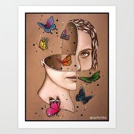 Sectioned Spirit Art Print
