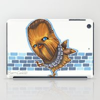 chewbacca iPad Cases featuring Chicken Chewbacca by Boom Cookie