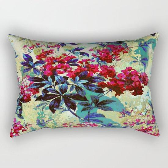 pretty red flowers Rectangular Pillow