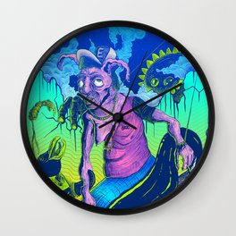 Perplex rabbit Wall Clock