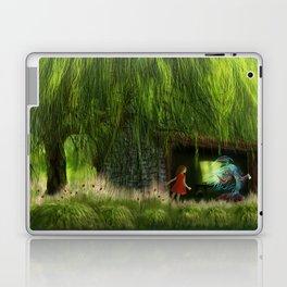 Der Fisch im Fischschuppen Laptop & iPad Skin