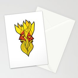 The Fire God Stationery Cards