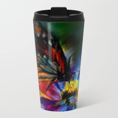 Papillon Metal Travel Mug
