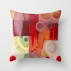 Holding Throw Pillow