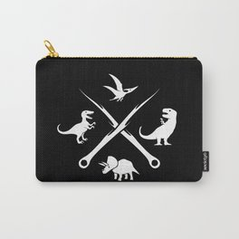 Hipster Dinosaurs Logo Carry-All Pouch